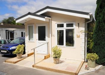 Thumbnail 2 bedroom mobile/park home for sale in Wheatplot Park Homes, Bournemouth