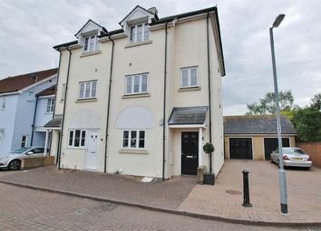 Thumbnail 3 bed end terrace house for sale in Hutchinson Close, Tiptree, Essex