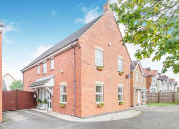 Thumbnail Detached house for sale in Ferndale Grove, Hinckley