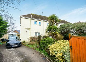 Thumbnail 4 bed semi-detached house for sale in Mile End Road, Newton Abbot