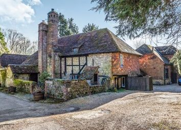 Thumbnail 4 bed detached house for sale in Hollist Lane, Easebourne, Midhurst, West Sussex