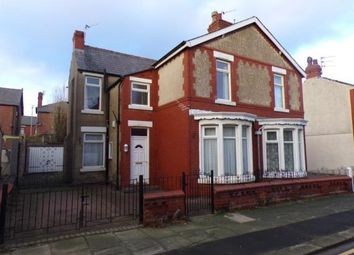Thumbnail 3 bed semi-detached house for sale in Portland Road, Blackpool, Lancashire