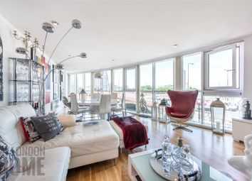 Thumbnail 3 bed flat for sale in Bridge House, St George Wharf, Vauxhall, London