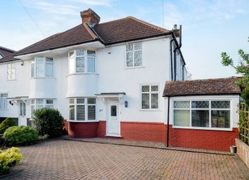 Thumbnail 4 bed semi-detached house for sale in Crescent Drive, Petts Wood, Orpington