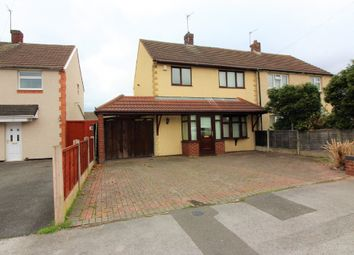 Thumbnail 3 bed semi-detached house for sale in Margaret Road, Bentley, Walsall