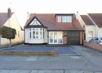 Thumbnail 4 bed detached bungalow for sale in Westrow Gardens, Seven Kings, Essex