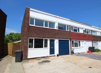 Thumbnail 3 bedroom end terrace house for sale in Coast Road, Pevensey Bay