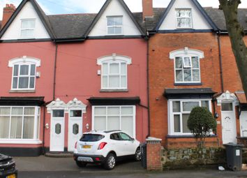 Thumbnail 4 bed terraced house for sale in Hall Road, Handsworth, Birmingham