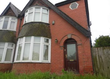 Thumbnail 3 bedroom semi-detached house for sale in Victoria Avenue East, Blackley