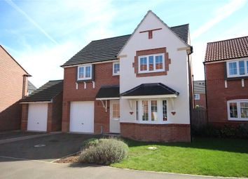 Thumbnail 4 bed detached house for sale in Tacitus Way, North Hykeham