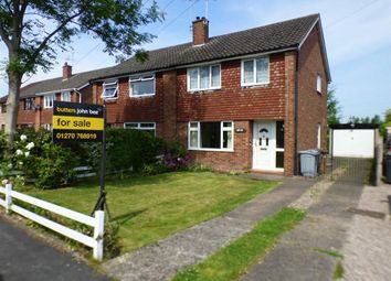 Thumbnail 3 bed semi-detached house for sale in Armitstead Road, Wheelock, Sandbach