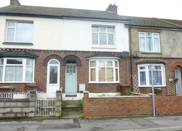 Thumbnail 2 bed terraced house to rent in Corporation Road, Gillingham