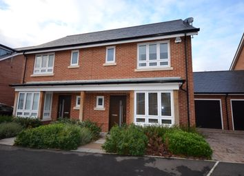 Thumbnail 3 bed semi-detached house to rent in Teaseltun, Fleet