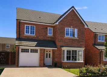 Thumbnail 4 bed detached house for sale in Ambridge Way, Seaton Delaval, Whitley Bay