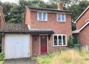 Thumbnail 3 bedroom detached house for sale in Fairways Drive, Madeley, Telford