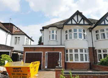 Thumbnail 3 bed semi-detached house to rent in Minchenden Crescent, Southgate, London