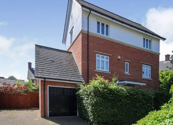 Thumbnail 4 bed detached house for sale in Wyatt Crescent, Lower Earley, Reading