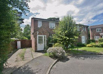 Thumbnail 3 bed semi-detached house to rent in Birchwood, Chineham, Basingstoke