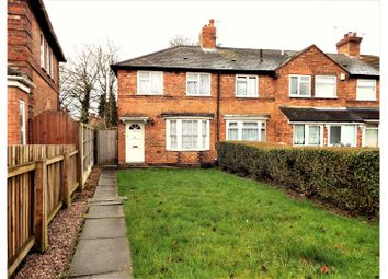 Thumbnail 3 bed end terrace house for sale in Arkley Road, Birmingham