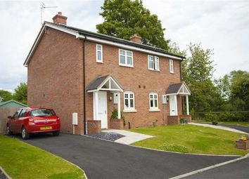 Thumbnail 2 bed semi-detached house for sale in Plot 4, Heritage Green, Forden, Welshpool, Powys