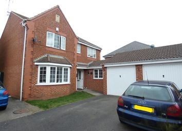 Thumbnail 4 bed detached house for sale in Pochins Bridge Road, Wigston, Leicester