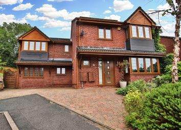 Thumbnail 5 bedroom detached house for sale in Dorallt Close, Henllys, Cwmbran