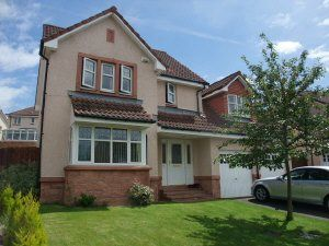 Thumbnail 4 bed property to rent in Dover Drive, Dunfermline