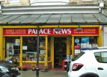 Thumbnail Retail premises for sale in Palace Avenue, Paignton