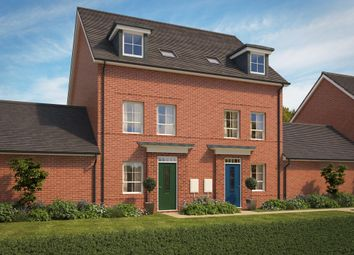 "Thumbnail 3 bed semi-detached house for sale in ""Padstow"" at Pinn Lane, Pinhoe, Exeter"