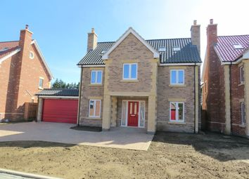 Thumbnail 5 bed detached house for sale in Oundle Road, Orton Longueville, Peterborough