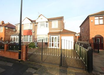 Thumbnail 3 bed semi-detached house for sale in Gairloch Avenue, Stretford, Manchester