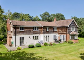 Thumbnail 6 bed detached house for sale in Sway Road, Sway Road, Lymington