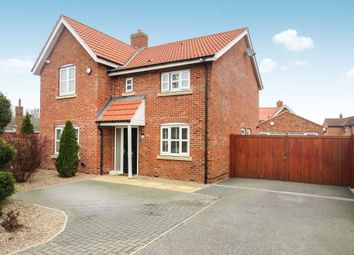 Thumbnail 4 bed detached house for sale in Station Road, Riccall, York