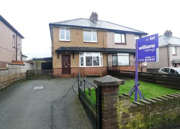Thumbnail 3 bed semi-detached house to rent in Llewelyns Estate, Denbigh
