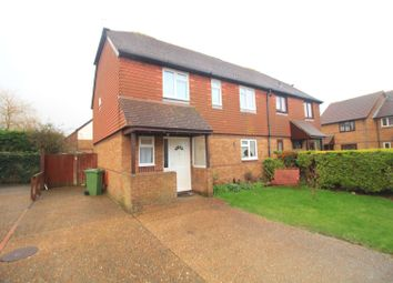 Thumbnail 4 bed semi-detached house for sale in Cornish Close, Eastbourne