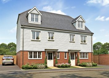 "Thumbnail 4 bed semi-detached house for sale in ""The Leicester"" at Market View, Dorman Avenue South, Aylesham, Canterbury"