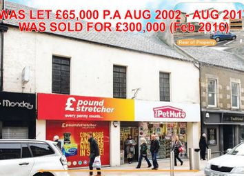 Thumbnail Commercial property for sale in 66, High Street, Kirkcaldy KY11Nb