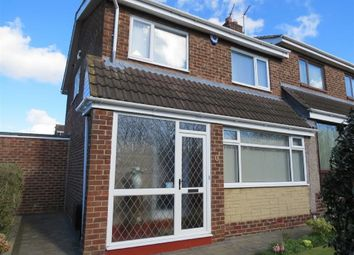 Thumbnail 3 bed semi-detached house for sale in Dalton Way, Penshaw, Houghton Le Spring