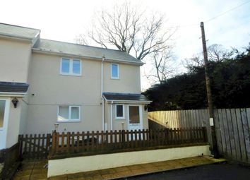 Thumbnail 2 bed end terrace house to rent in Meadowside Court, Copplestone, Crediton, Devon