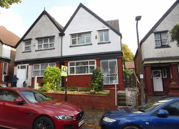 Thumbnail 6 bed semi-detached house for sale in Rochester Avenue, Prestwich, Manchester