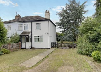 Thumbnail 2 bedroom semi-detached house for sale in Postland, Crowland, Peterborough
