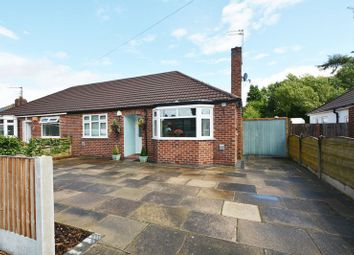 Thumbnail 2 bed semi-detached bungalow for sale in Peakdale Avenue, Heald Green, Cheadle