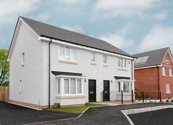 """Thumbnail 3 bedroom property for sale in """"The Buchanan"""" at Meadowhead Road, Wishaw"""