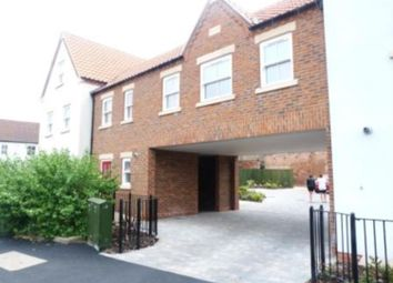 Thumbnail 1 bed flat to rent in Blucher Lane, Bechside Wharf, Beverley