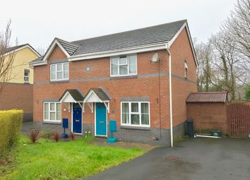 Thumbnail 3 bed semi-detached house for sale in Fernlea Park, Bryncoch, Neath