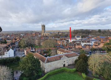 Thumbnail 4 bed detached house for sale in Castle Lane, Warwick, Warwickshire
