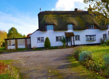 Thumbnail 4 bedroom semi-detached house for sale in Stoke, Andover