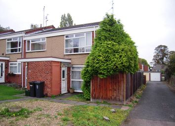 Thumbnail 2 bed maisonette for sale in Denis Close, Western Park, Leicester