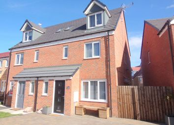 Thumbnail 4 bed town house for sale in Sunningdale Road, Ashington