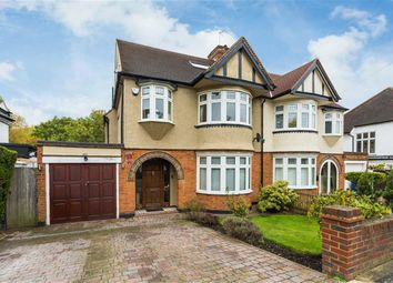 Thumbnail 4 bed semi-detached house for sale in Gresham Avenue, Whetstone, London